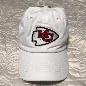 a4ca09ef50b Accessories - NWT! KC Chiefs Swarovski Crystal Hat